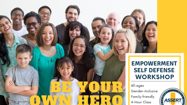 Empowerment Self Defense Workshop   Gender-inclusive & Family-friendly